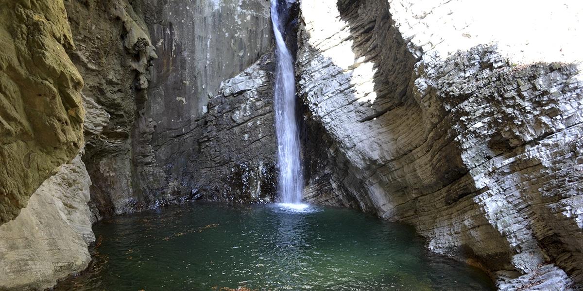 Cascada en Eslovenia