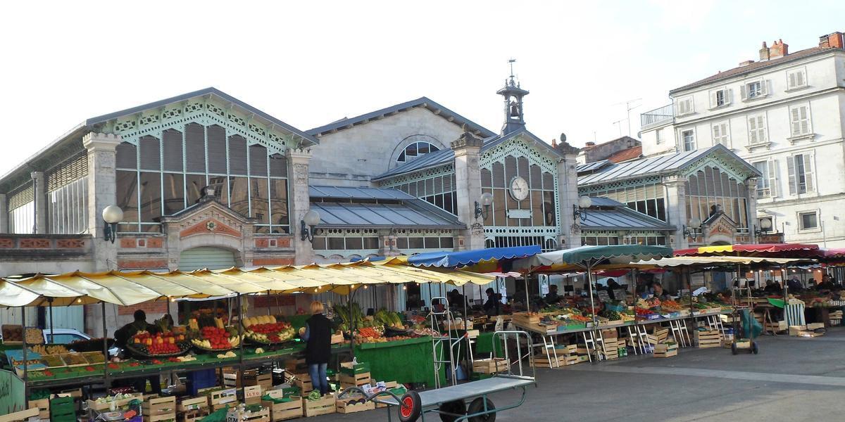 mercado de La Rochelle