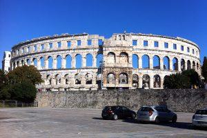 El anfiteatro de Pula