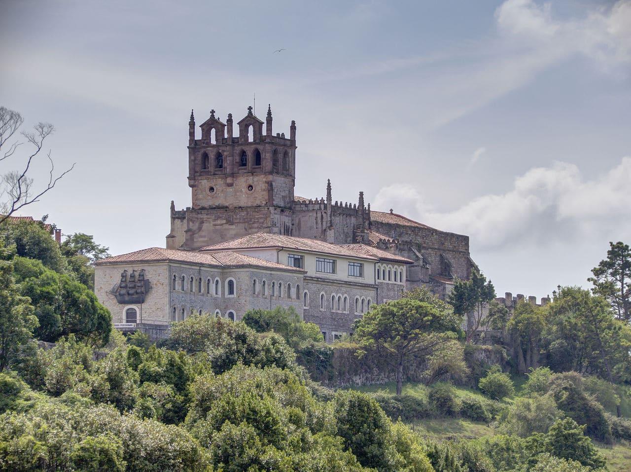 Vista de la iglesia de Santa María de los Ángeles