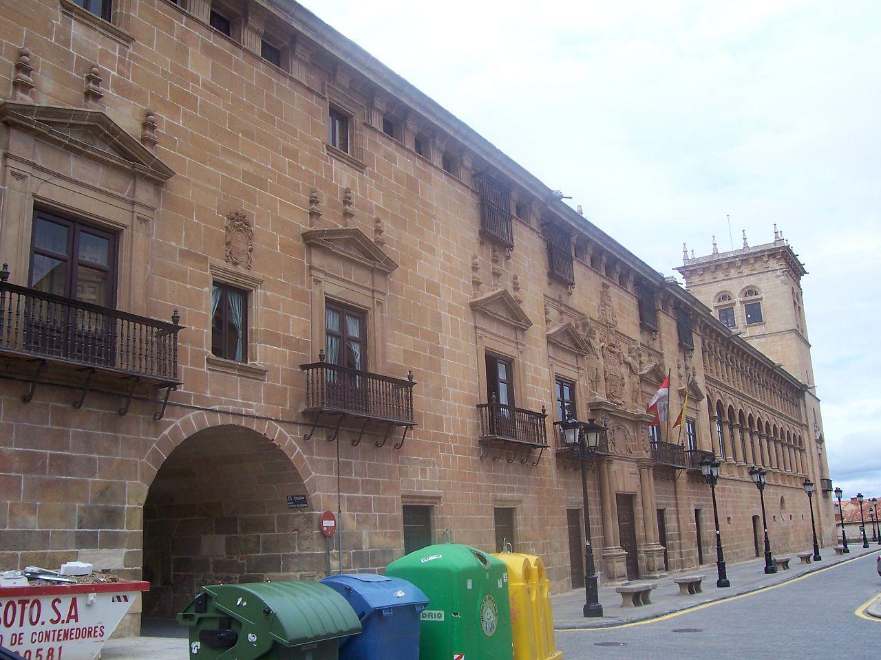 El palacio de los condes de Gómara