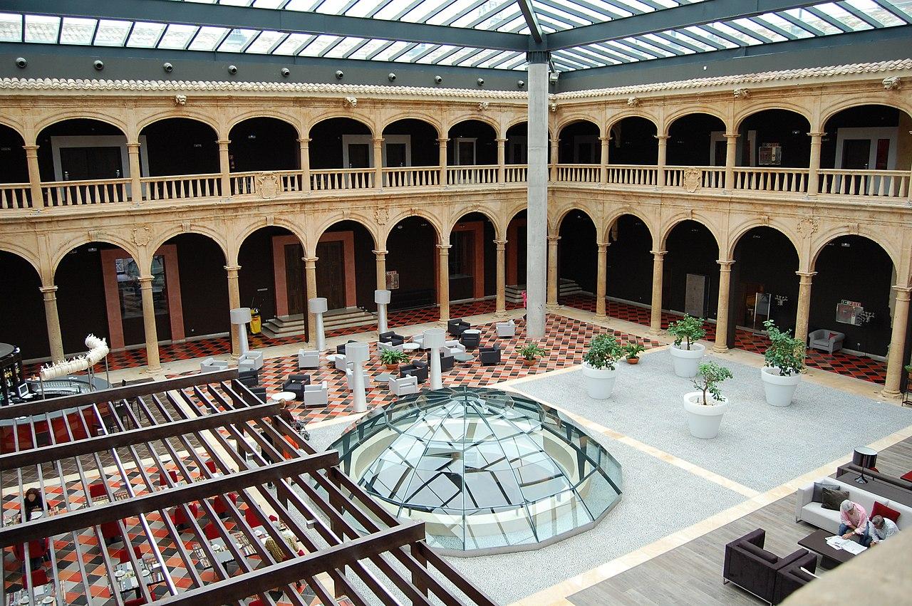 El claustro de la Universidad de Santa Catalina