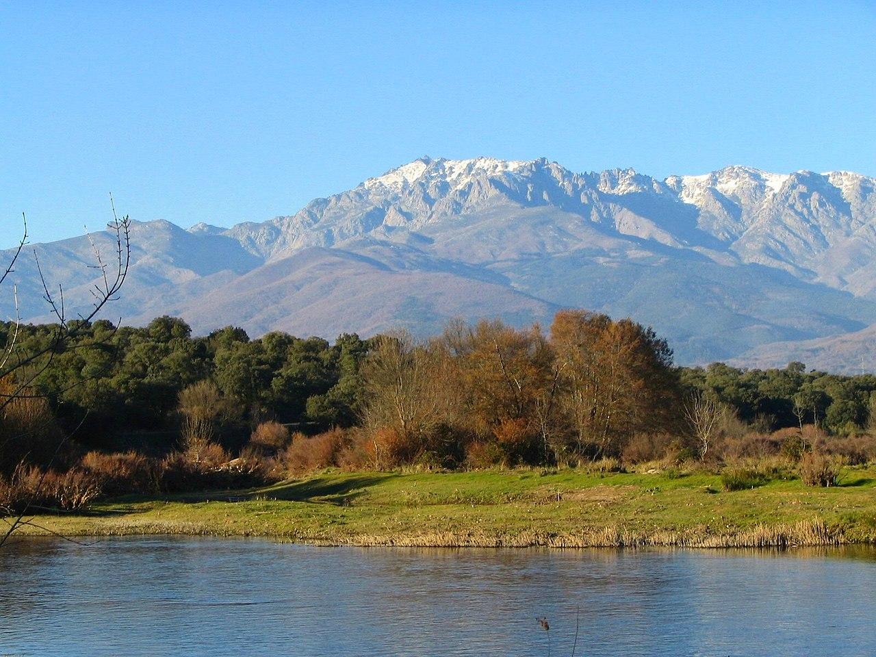 Vista de la sierra de Gredos
