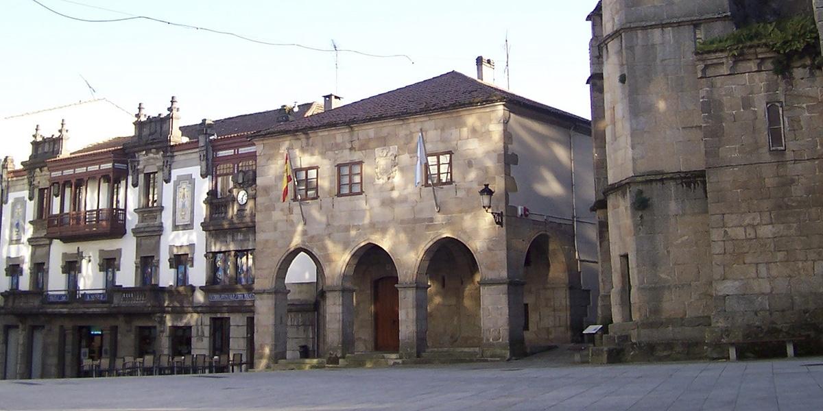 Plaza en Betanzos