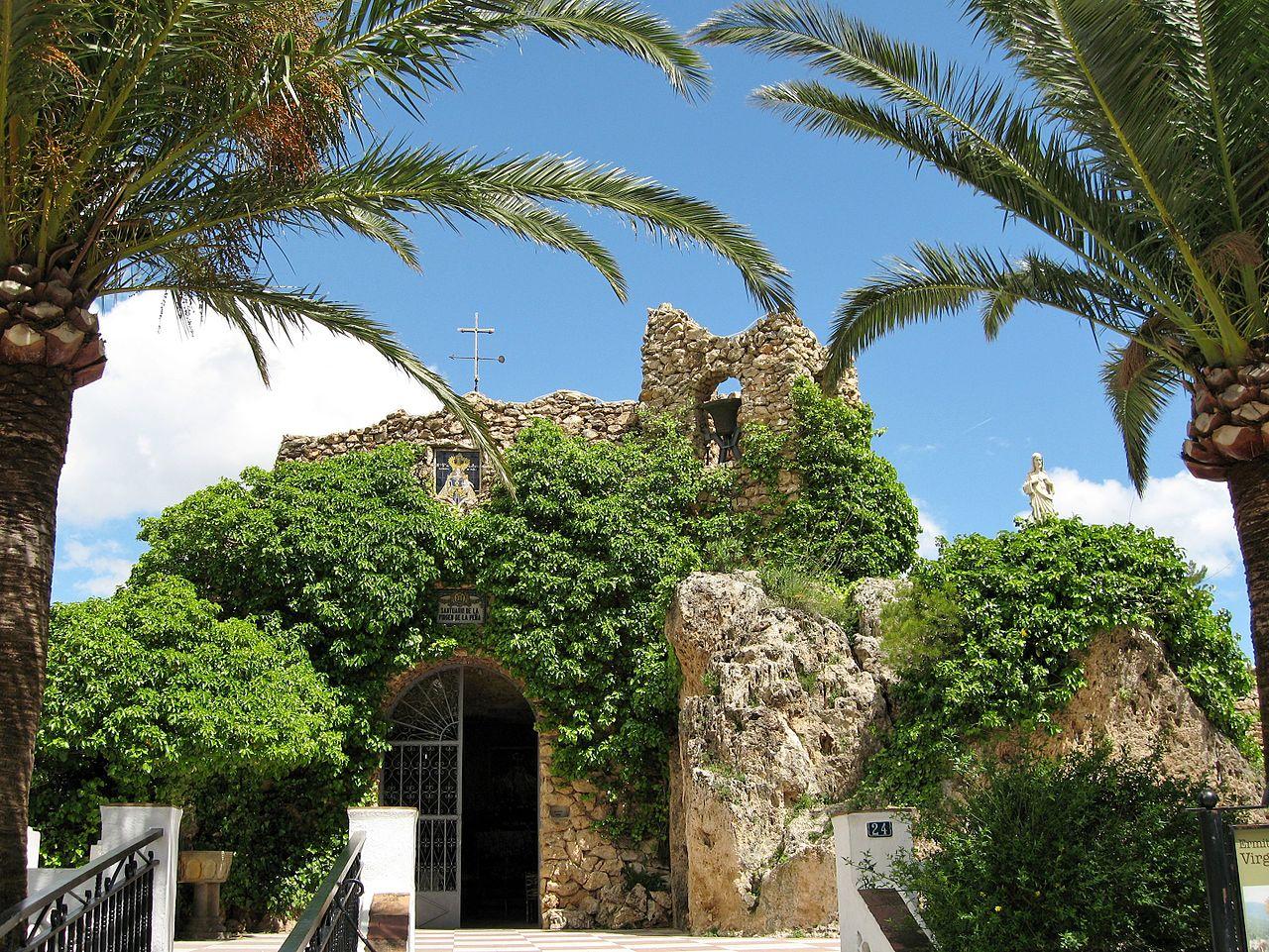 La ermita de la Virgen de la Peña