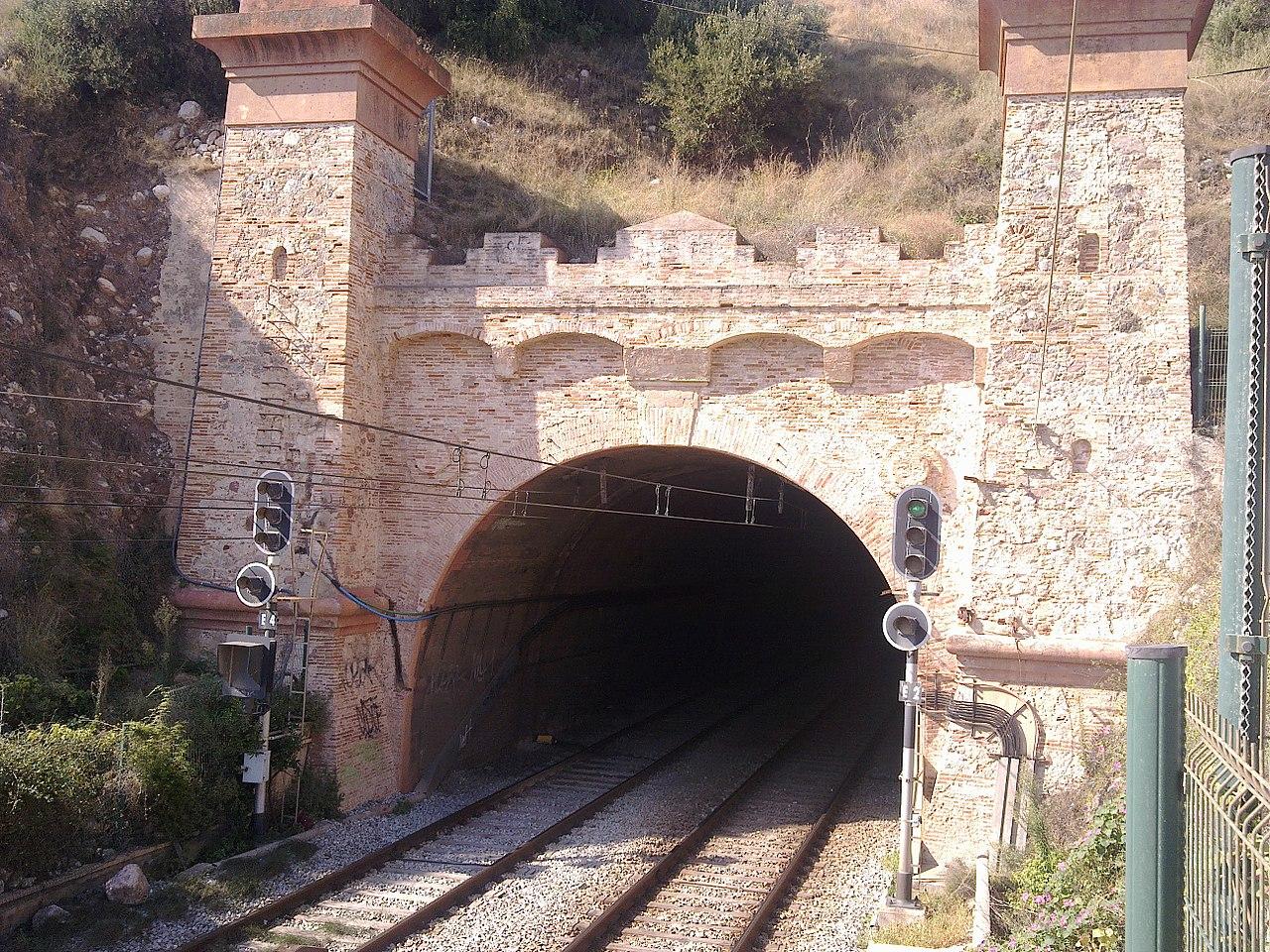 El túnel de Montgat