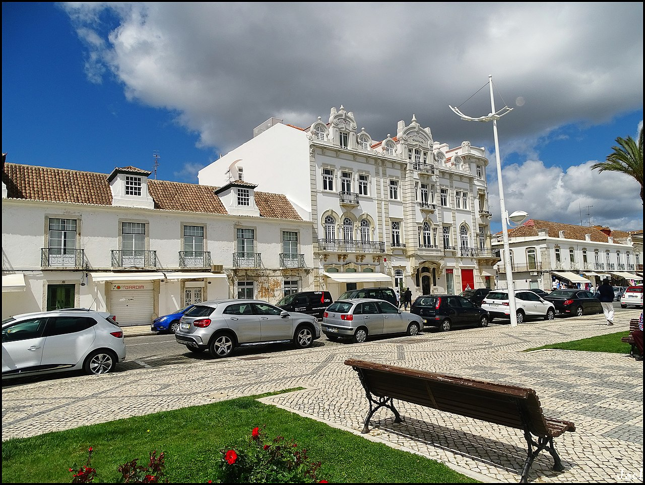 Vista de Vila Real de Santo Antonio