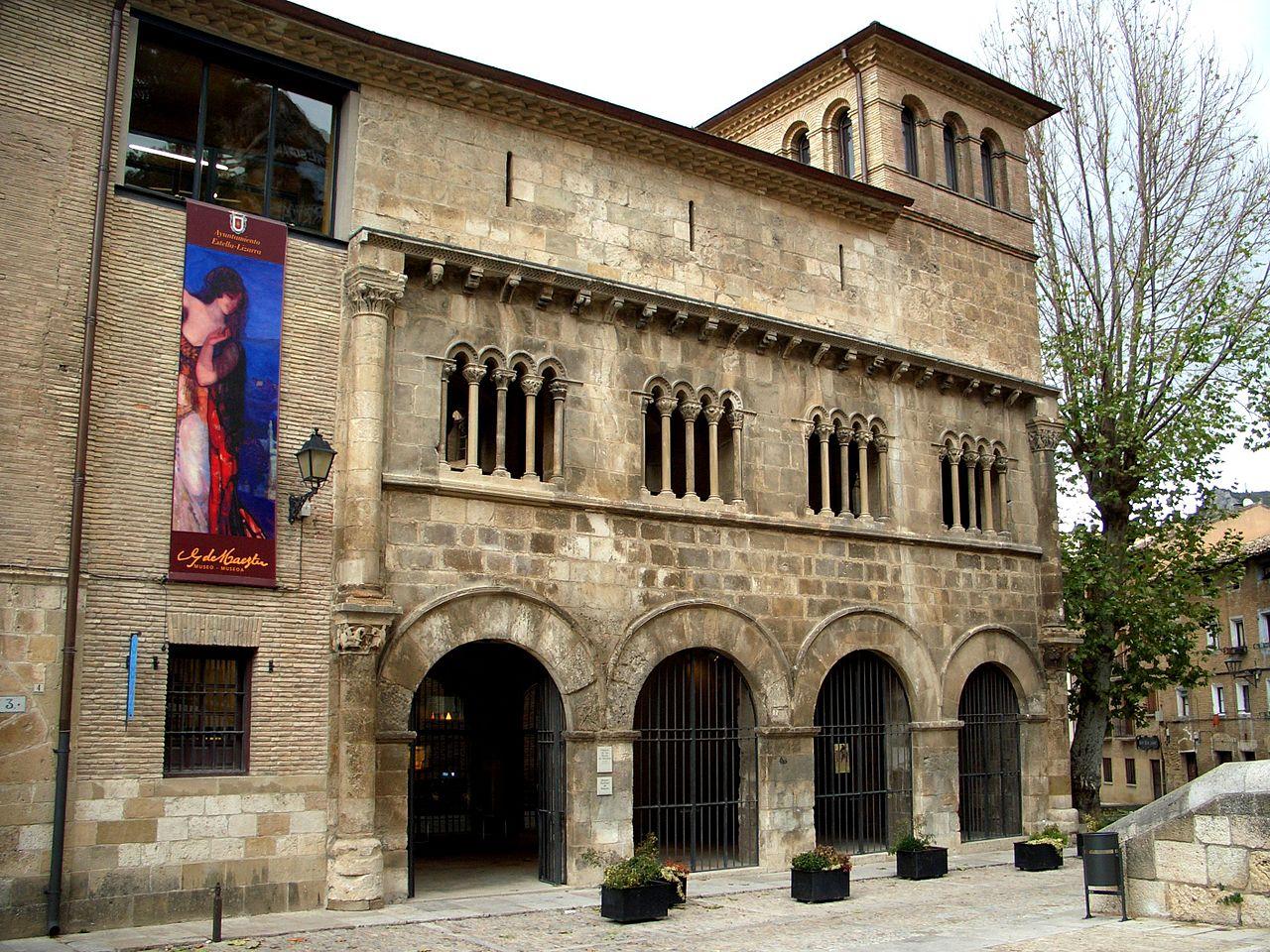 El palacio de los Reyes de Navarra