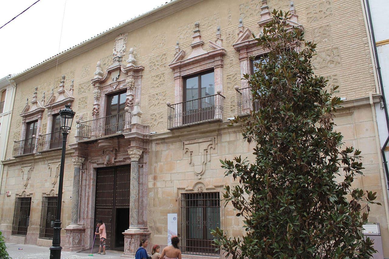 El Palacio de los condes de Santa Ana