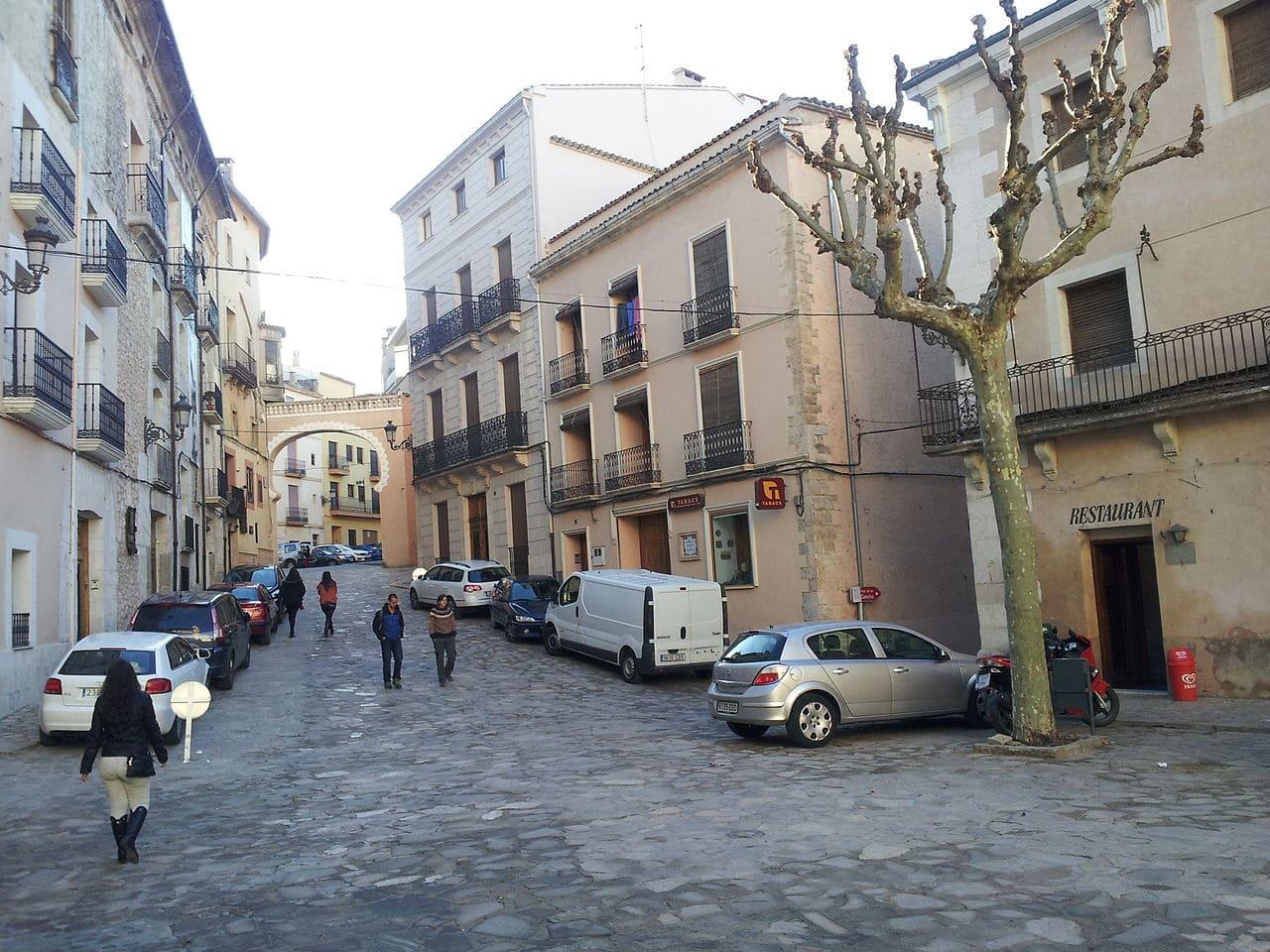 La plaza del Ayuntamiento de Bocairent