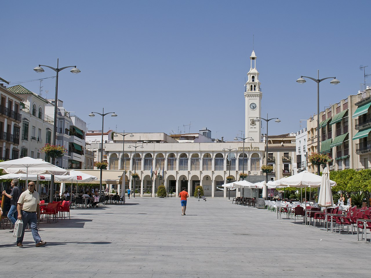 La Plaza Nueva de Lucena