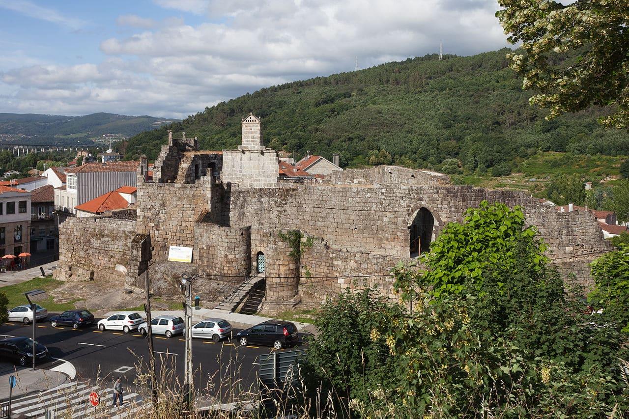 El castillo de Ribadavia