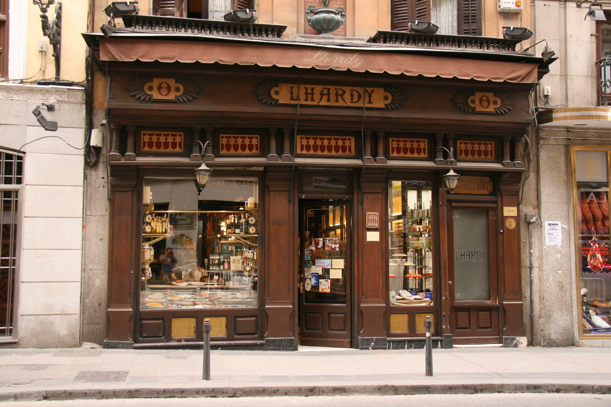 Restaurante Casa Lhardy, Madrid