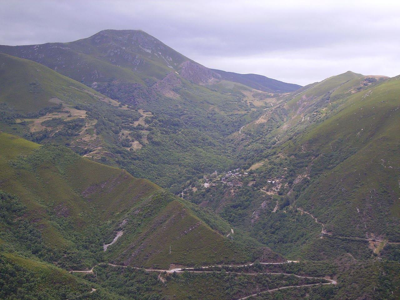Los montes Aquilanos