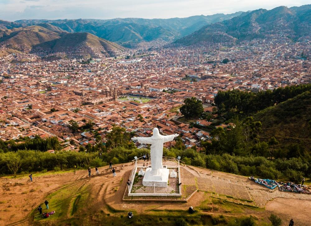 Mirador de Pukamuqu Cristo Blanco Cuzco