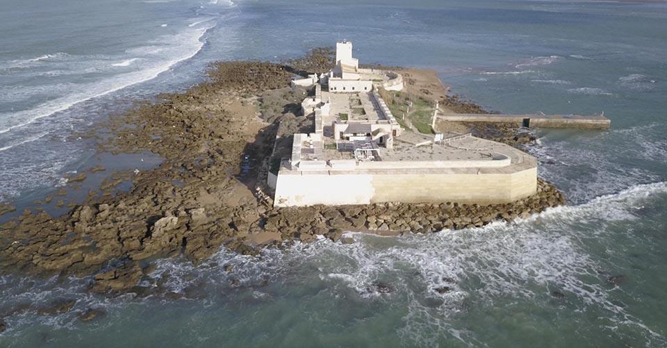 El castillo de Sancti Petri es un símbolo de Chiclana