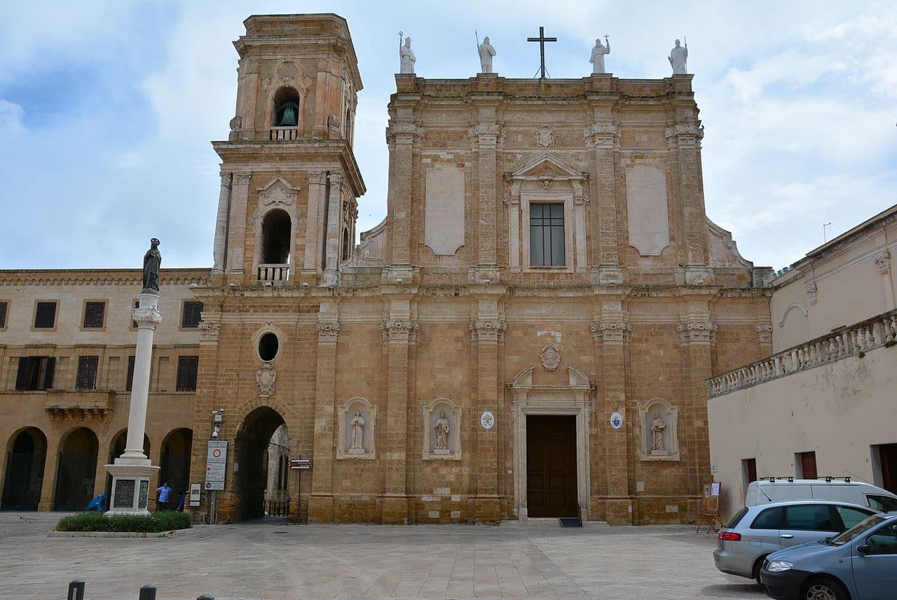 La catedral de Brindisi