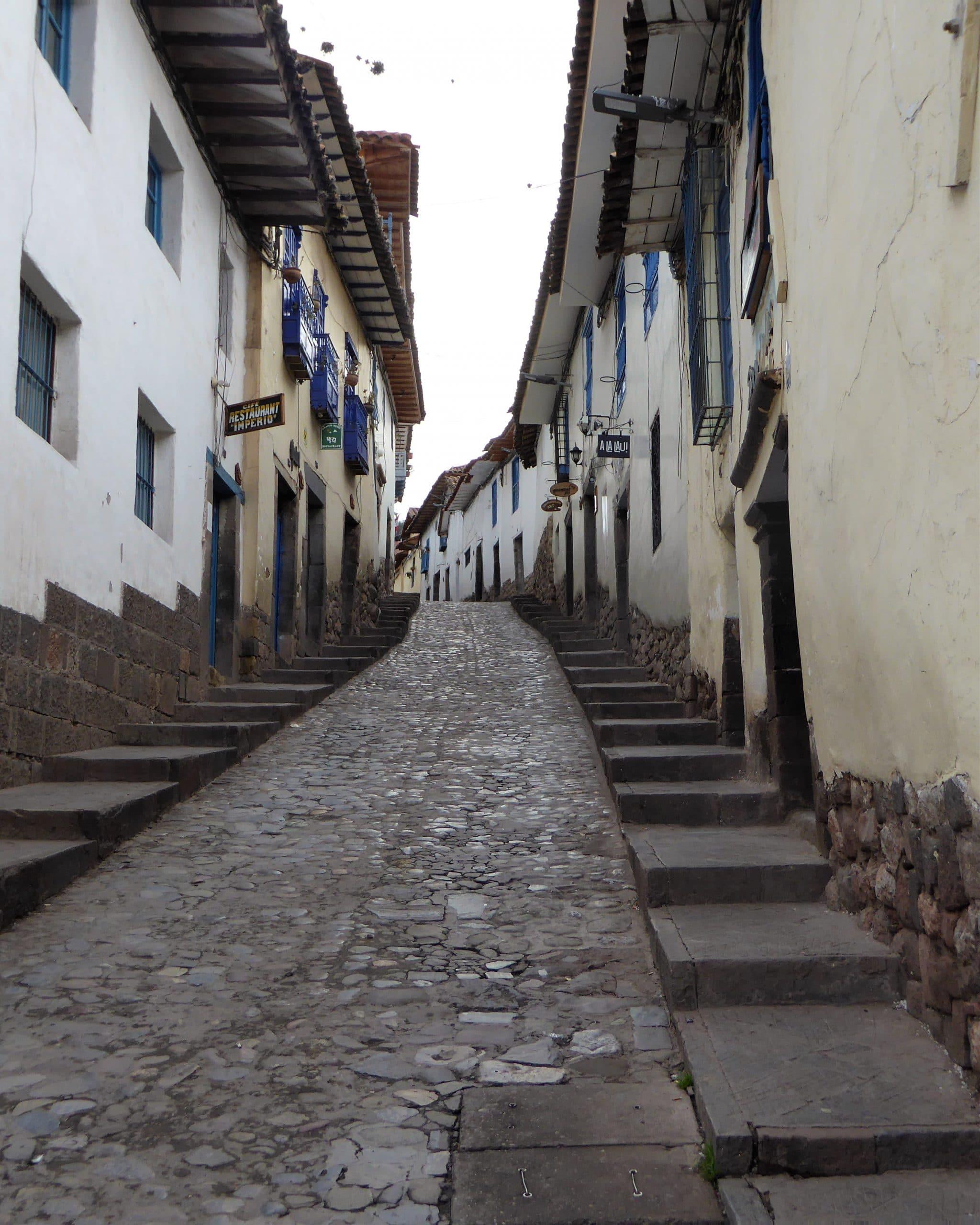Cuesta de San Blas en El Barrio San Blas de Cuzco
