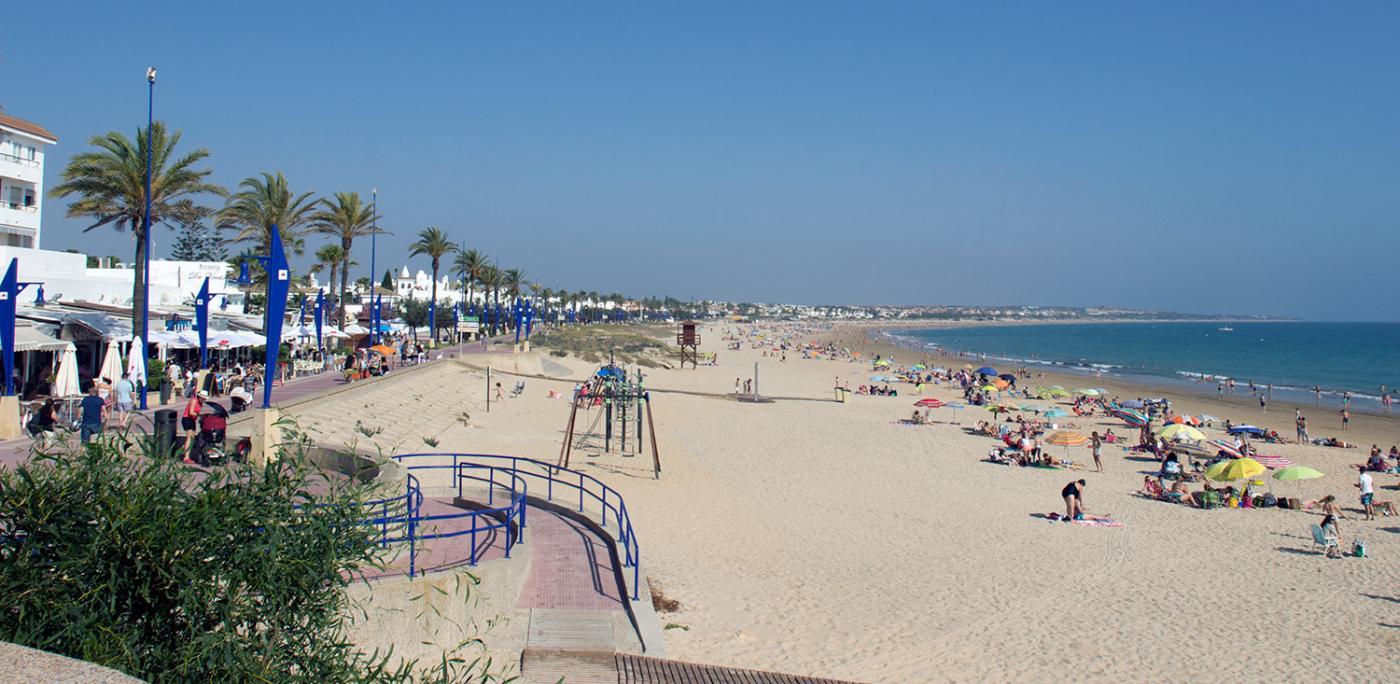 Playa de la Barrosa una de las mejores playas de Chiclana