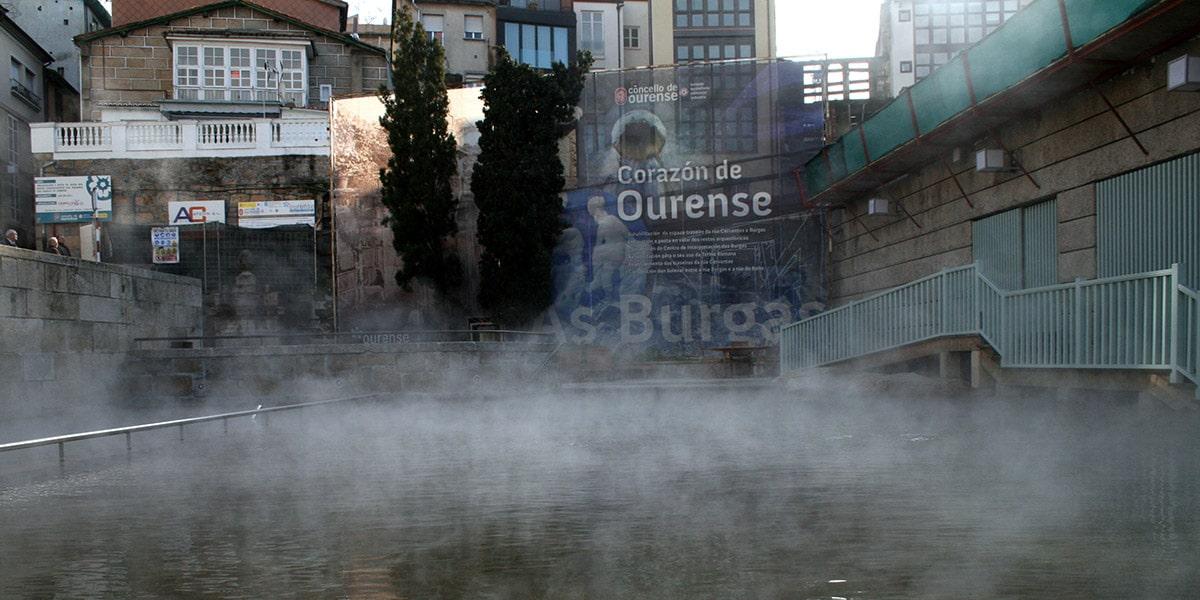 As Burgas en Ourense