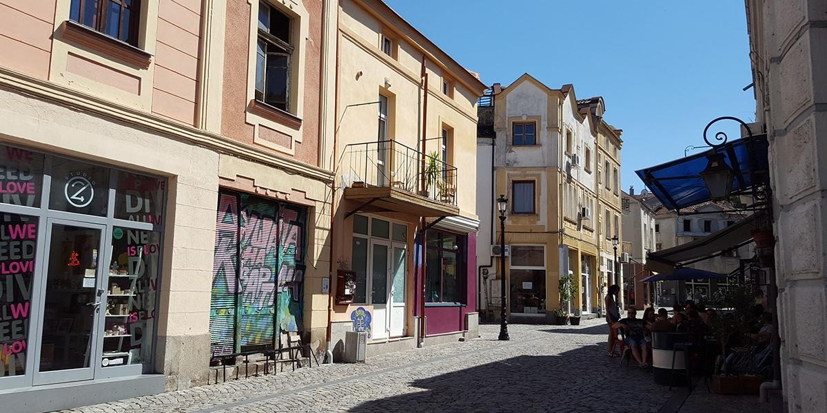 Plovdiv barrio