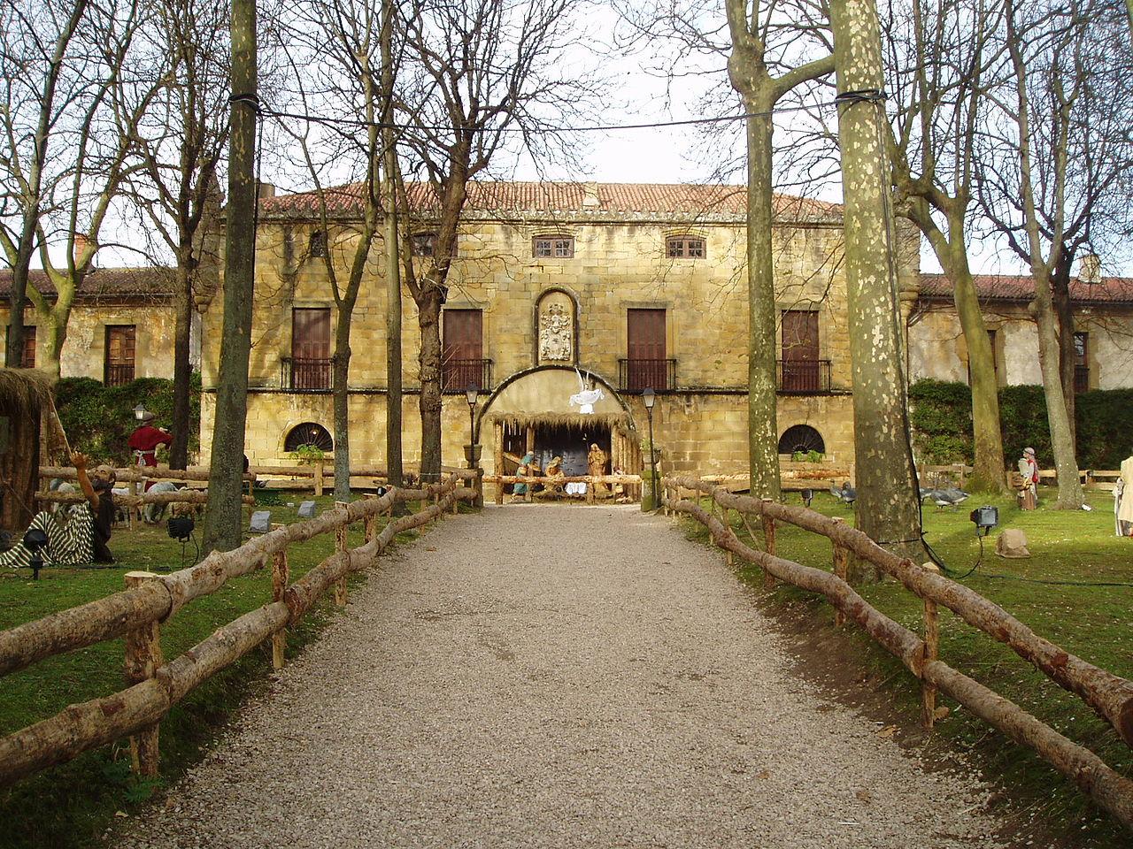 El palacio de Narros