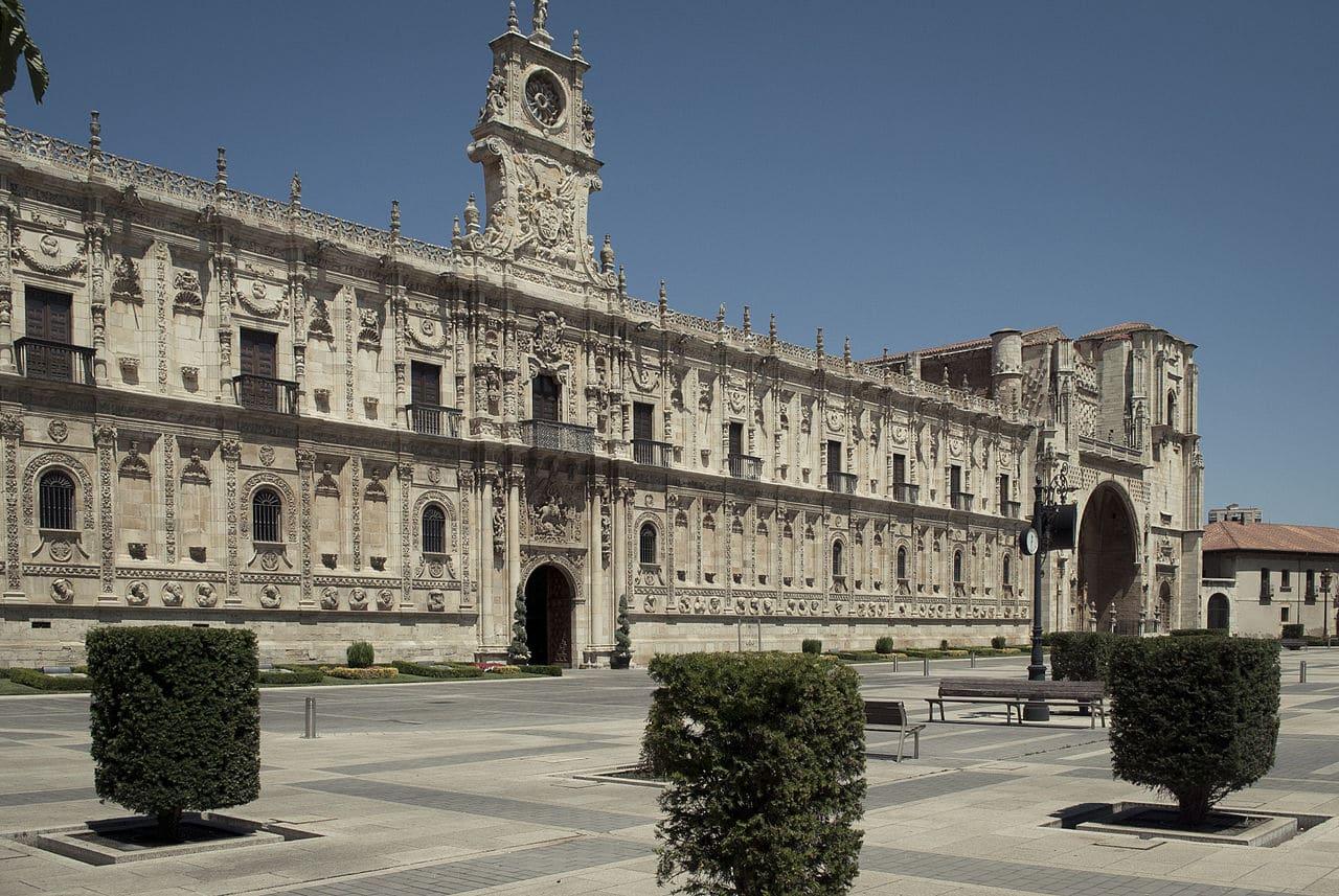 La fachada del convento de San Marcos