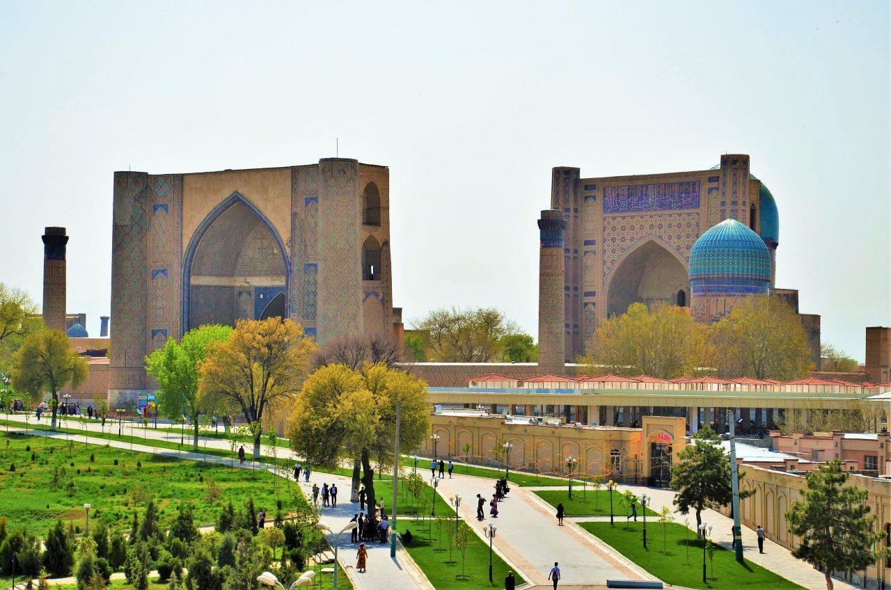 La mezquita Bibi Khanum