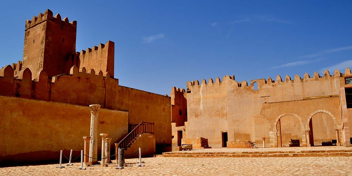 Kasbah en el Sáhara