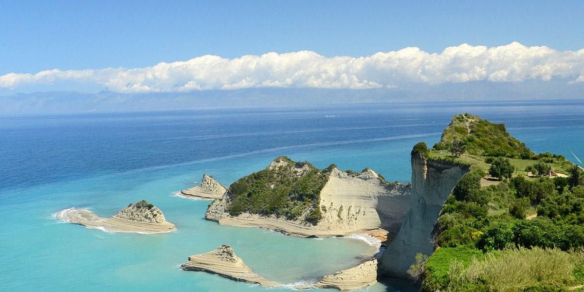 Corfú en Grecia