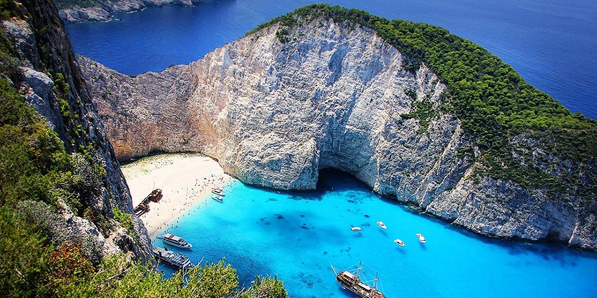 Zakhyntos en Grecia