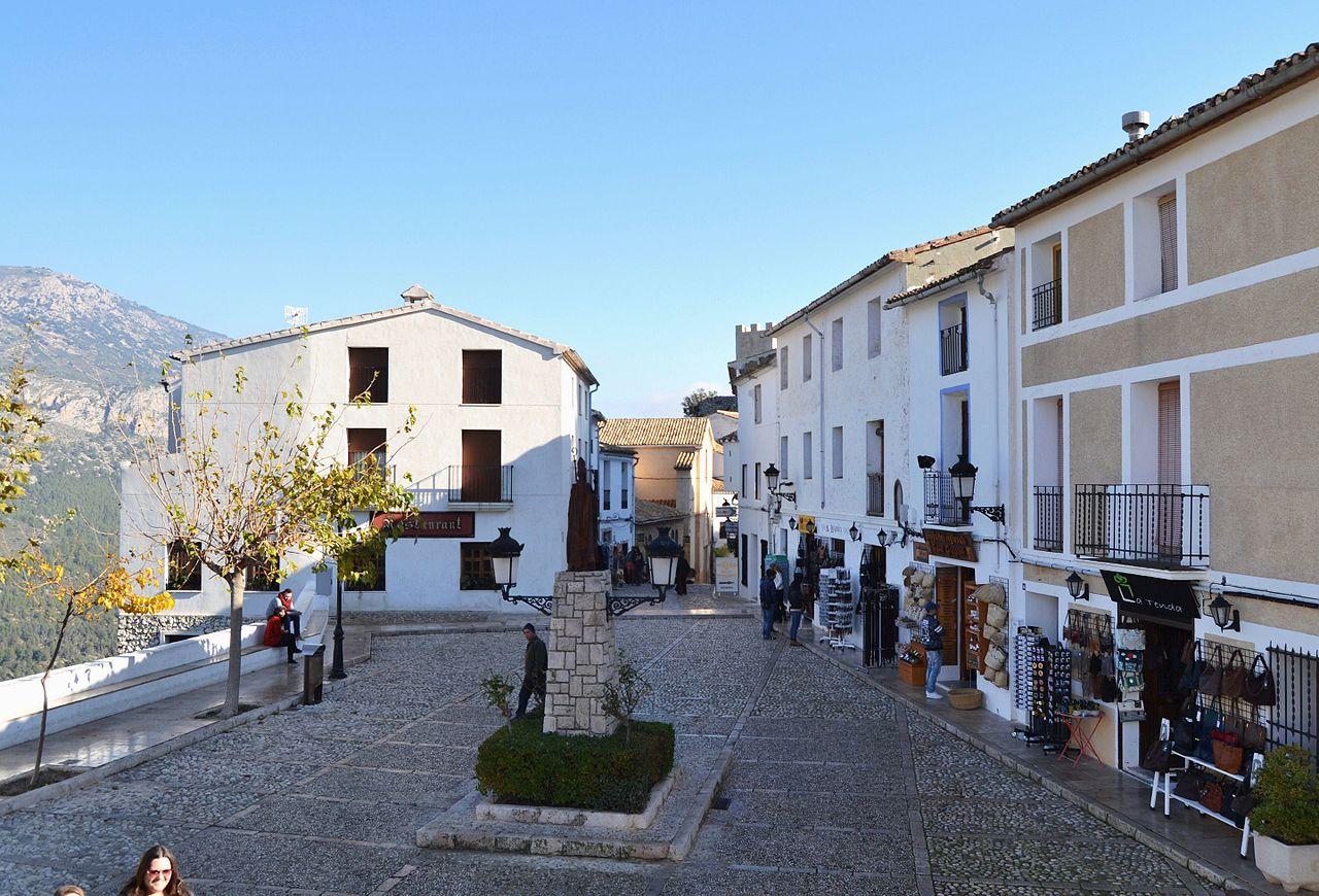 Vista de Guadalest