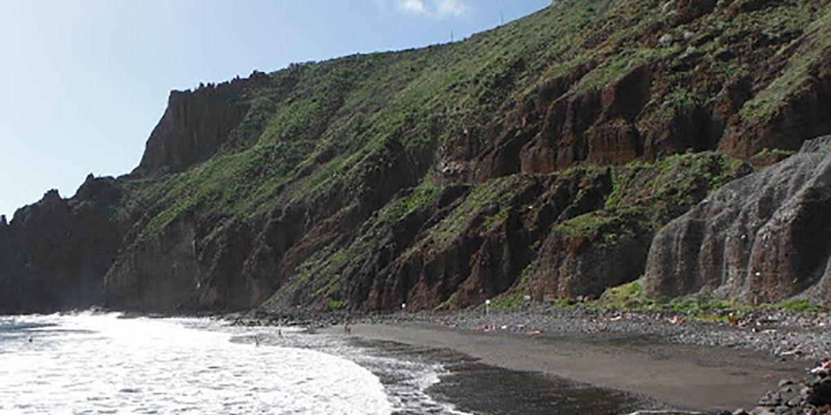 Playa de Las Gaviotas en Tenerife