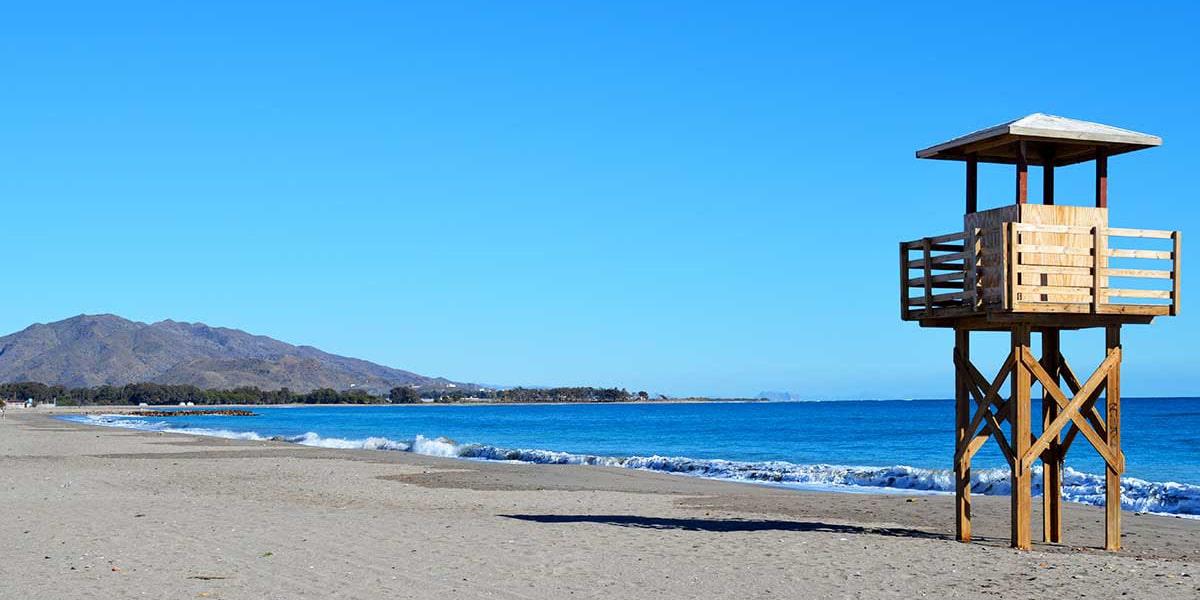 La playa de Vera en Almería es nudista
