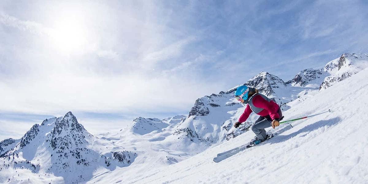 Hacer esquí