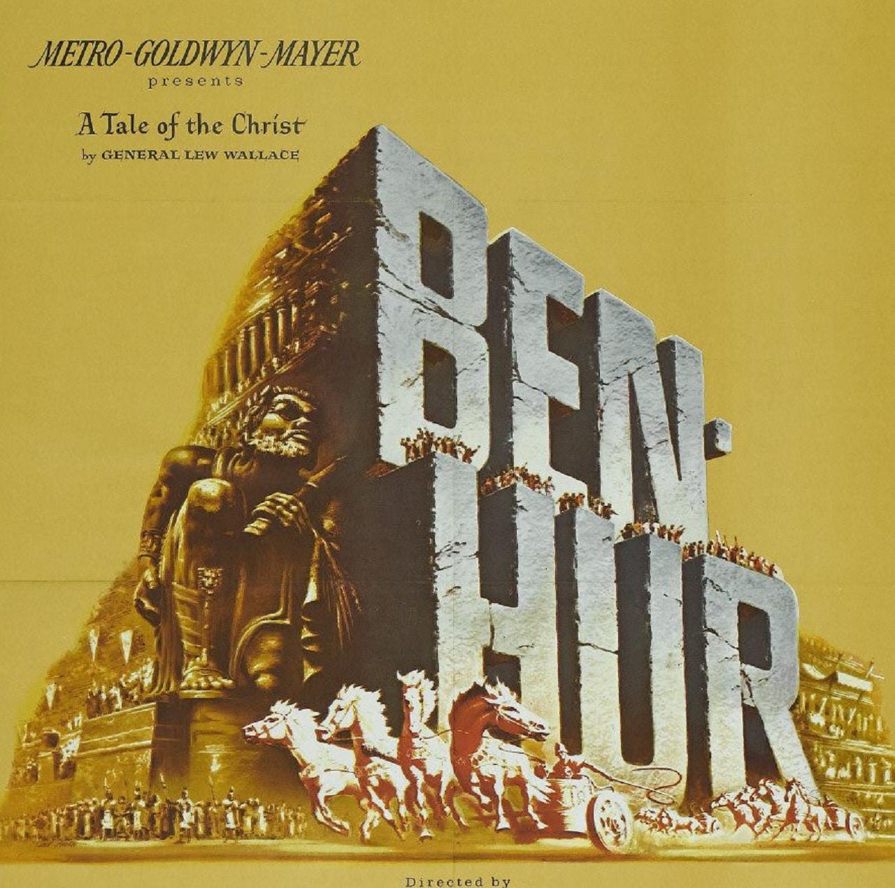 El cartel de 'Ben-Hur'