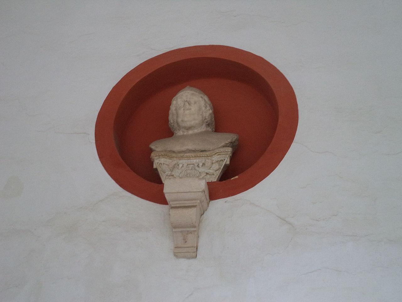 Cabeza del rey don Pedro