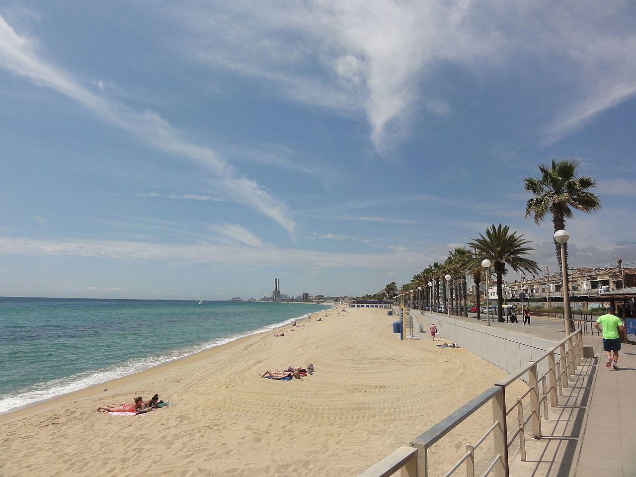 La playa de la Barca María