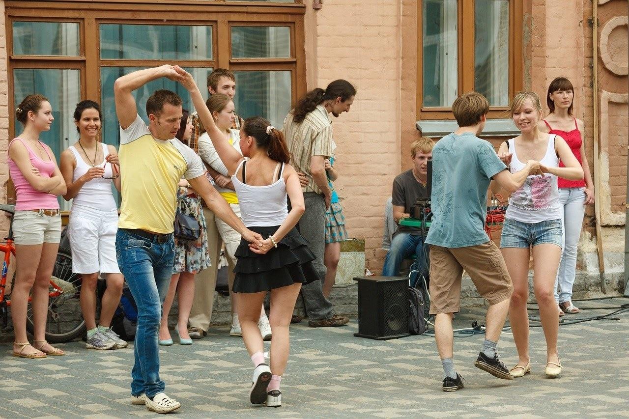 Bailando bachata