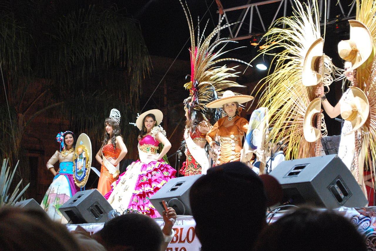 Espectáculo típico en Jalisco