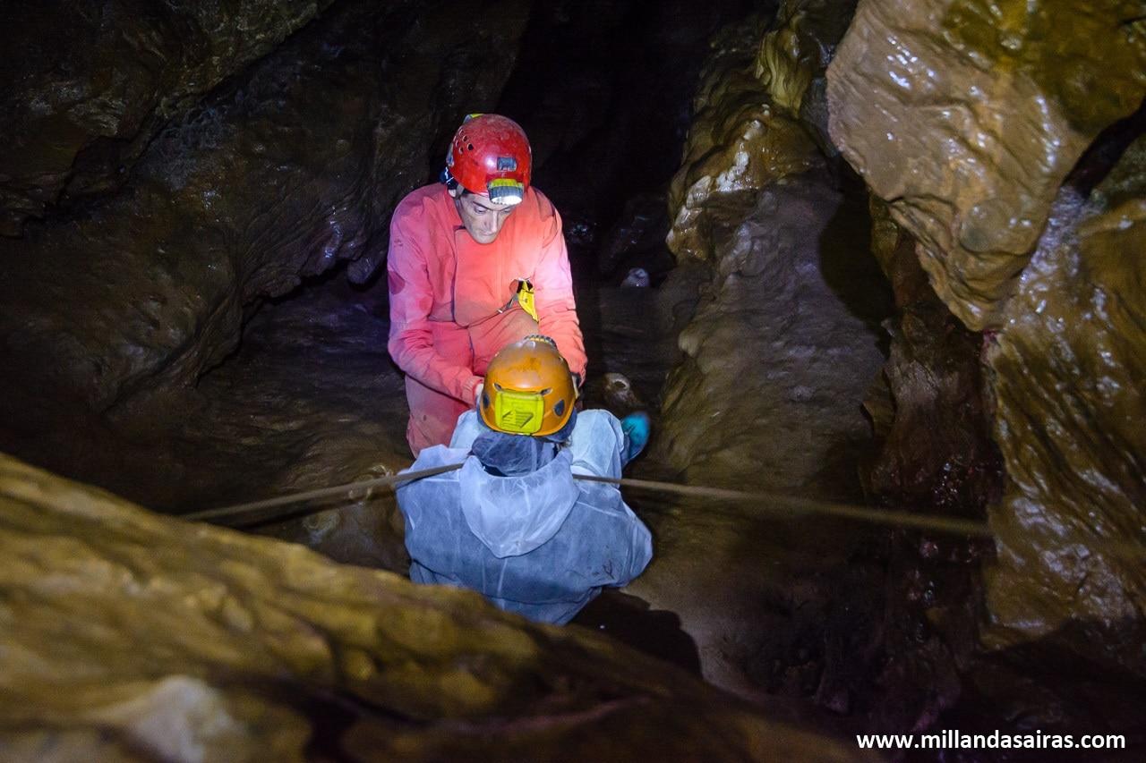 Vista de la cueva del rey CIntolo