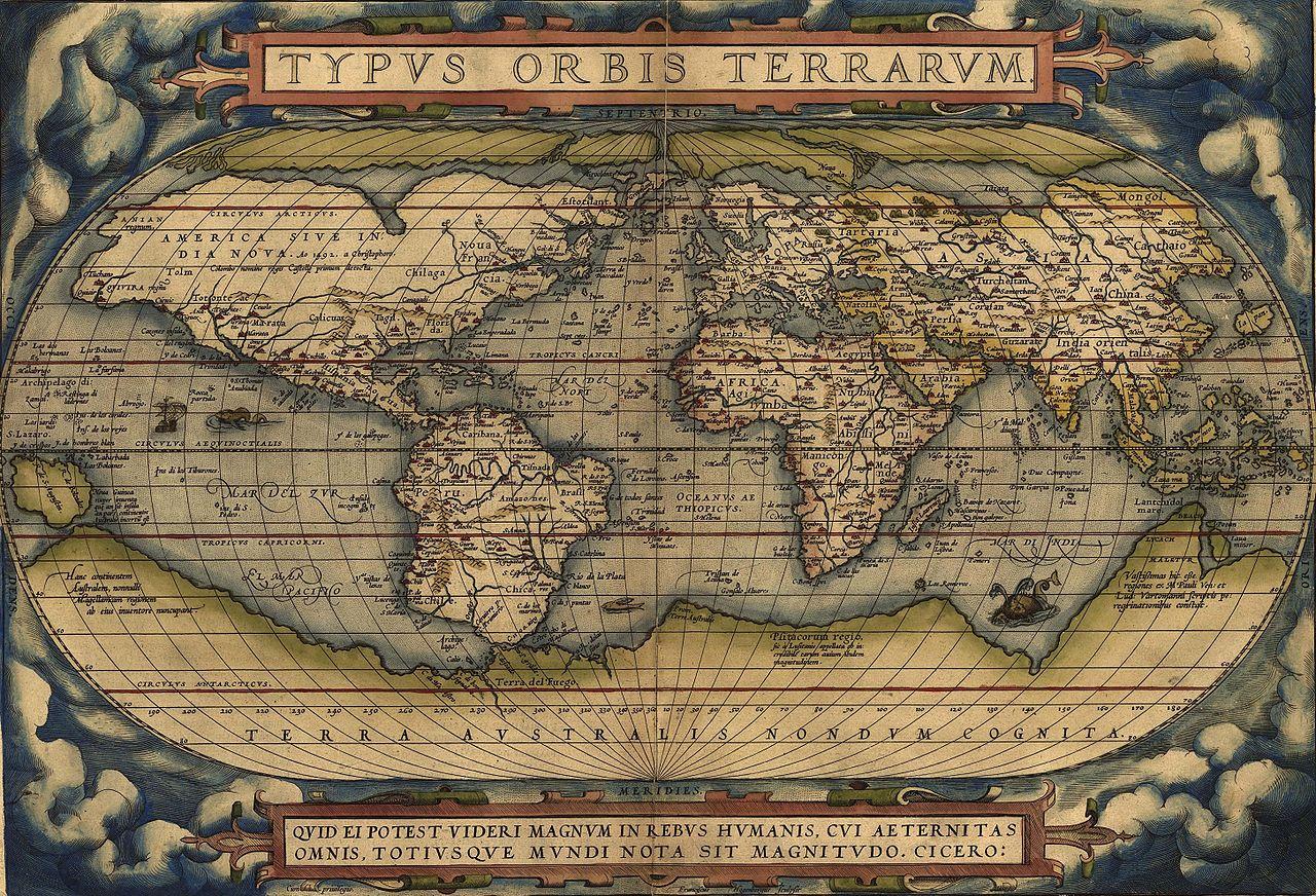Mapamundi renacentista