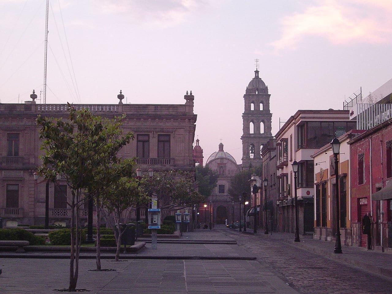 Vista de San Luis de Potosí