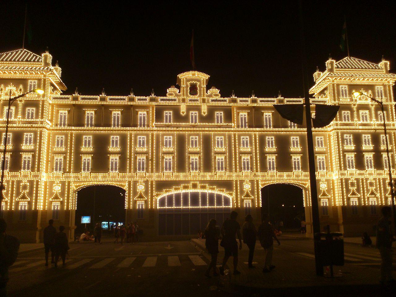 Imagen de la Feria de Málaga