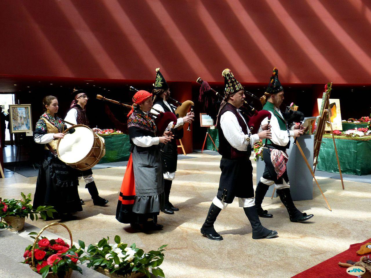 Grupo musical gallego