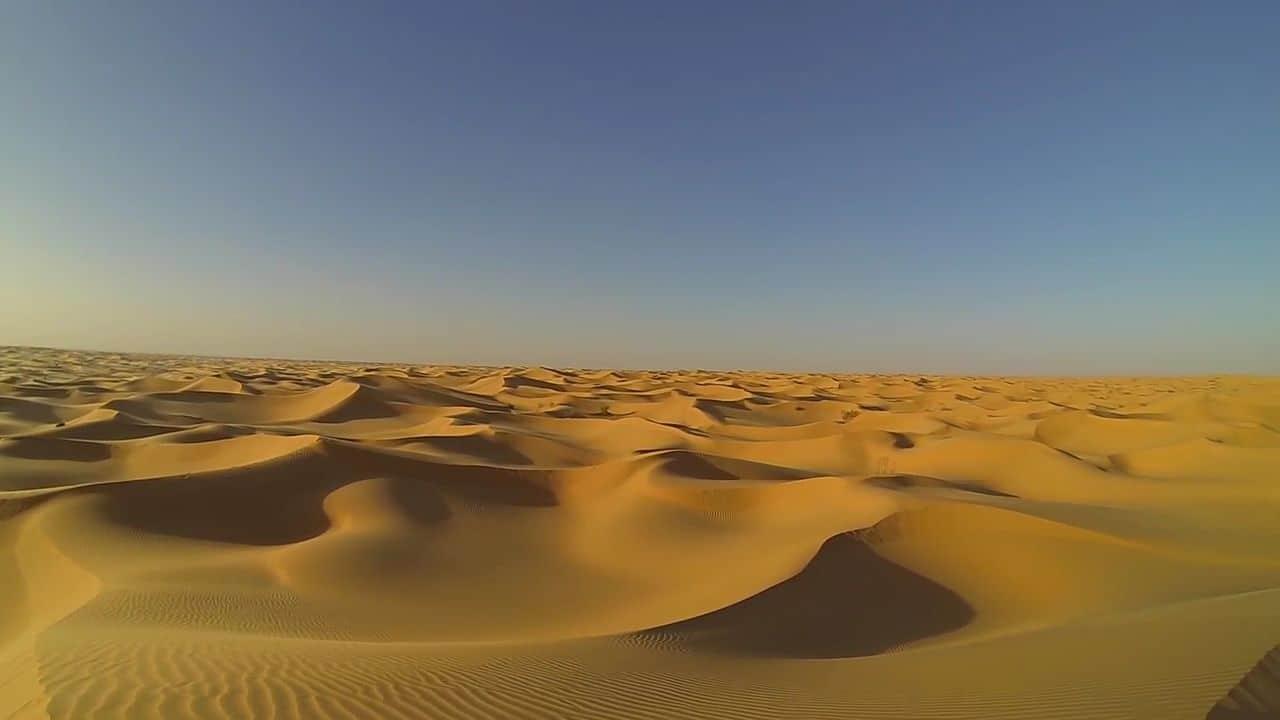 El desierto del Sáhara