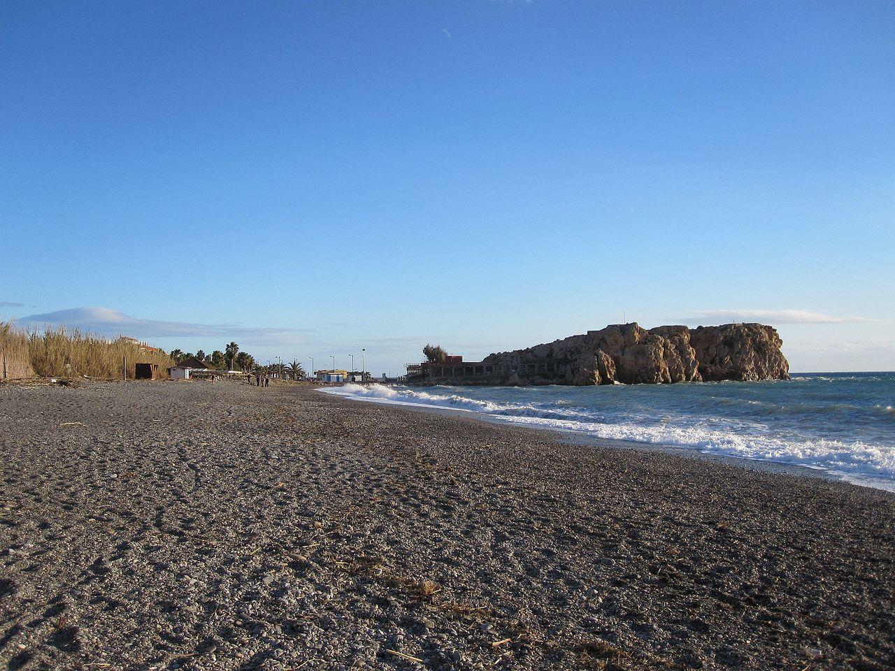 La playa de la Guardia