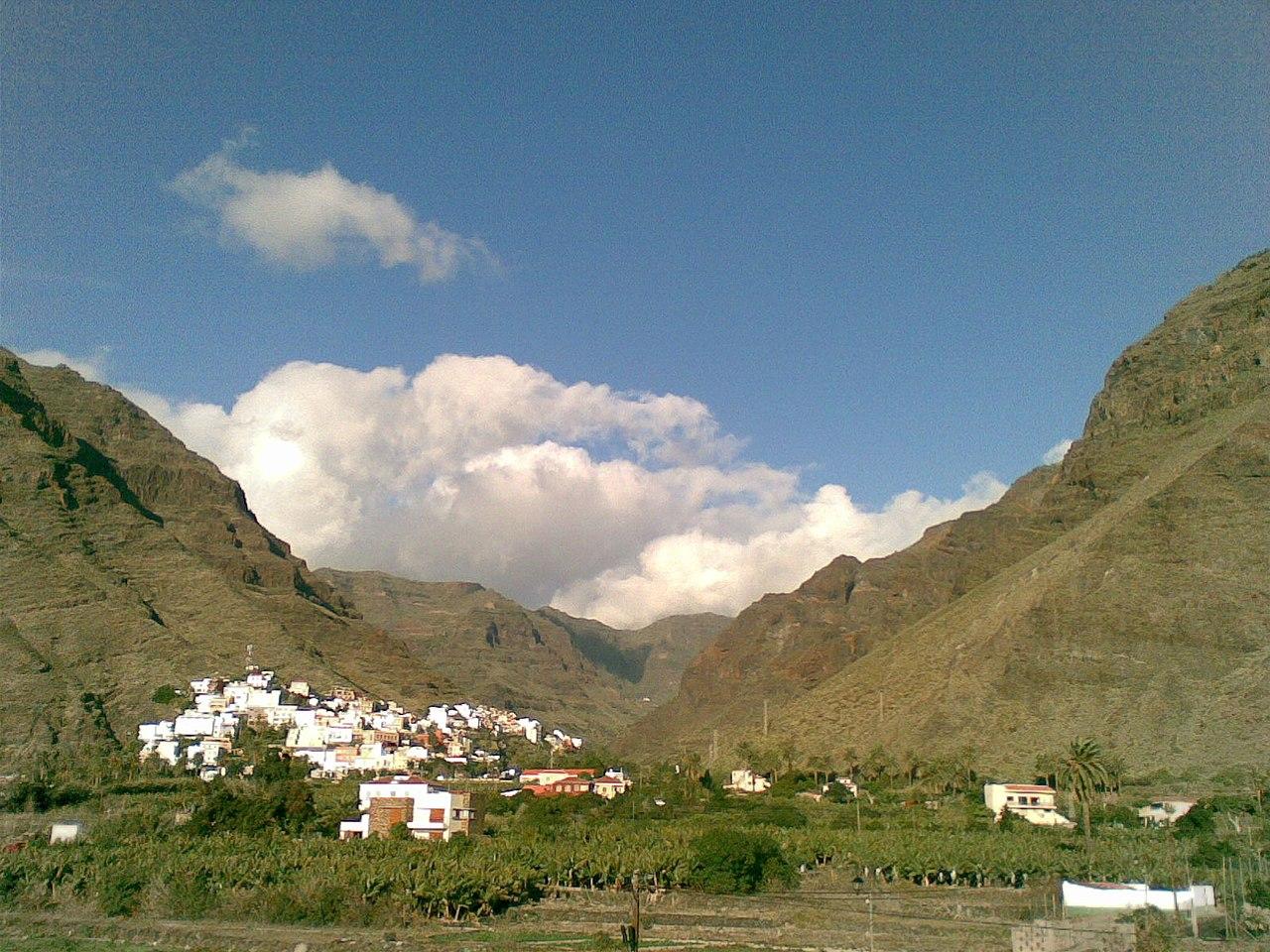 Vista de Valle Gran Rey