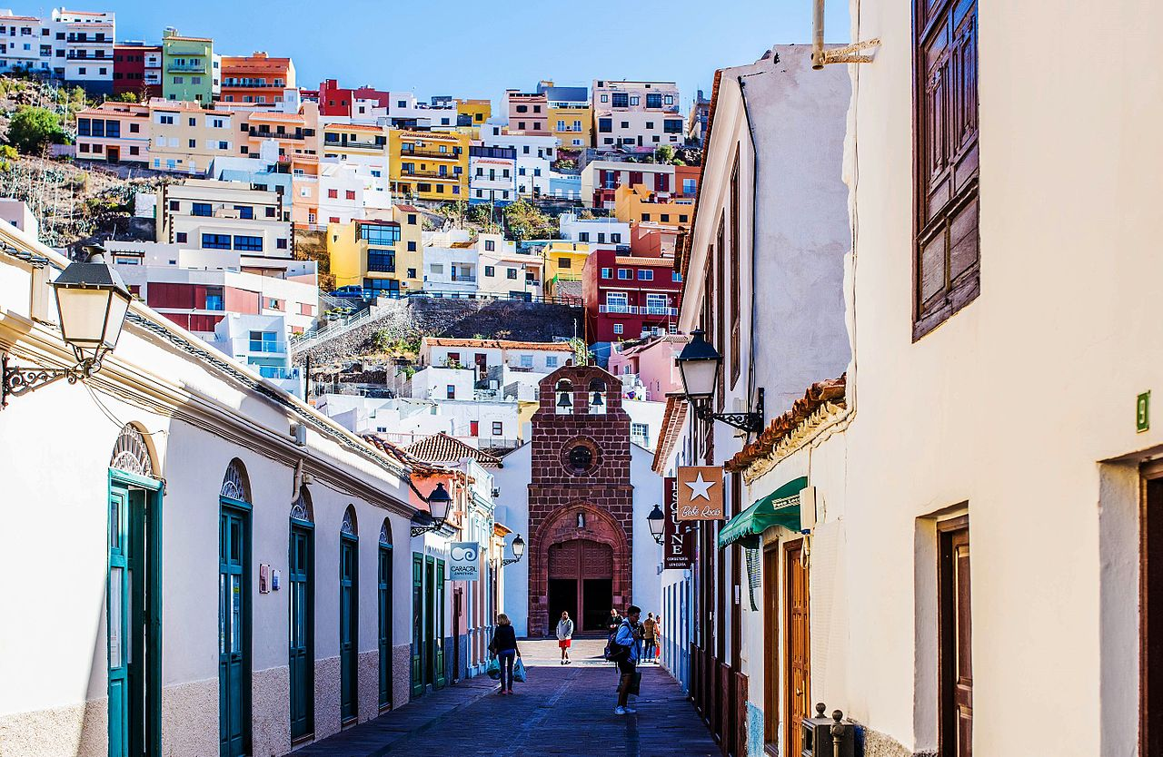 Vista de San Sebastián de La Gomera